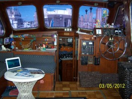 trawler layout